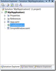 the codebehind.cs file